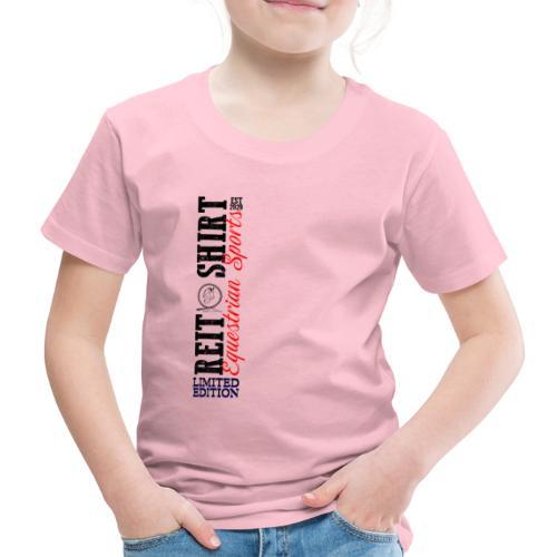 ReitShirt Limited Edition Pferde Reiten - Kinder Premium T-Shirt