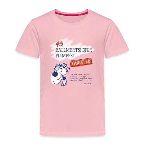 43. Ballmertshofer Filmfest Canceled - Kinder Premium T-Shirt