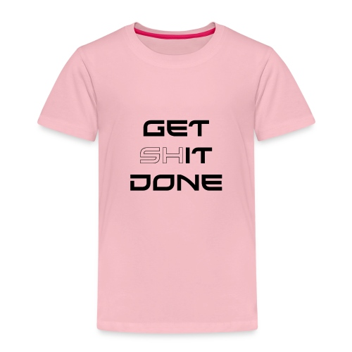 GET IT DONE - Premium T-skjorte for barn