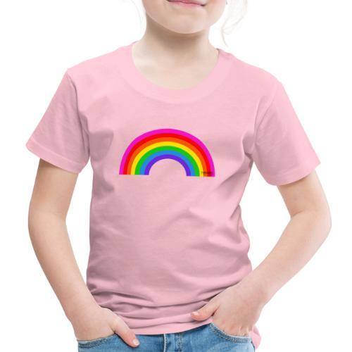 Rainbow - Lasten premium t-paita