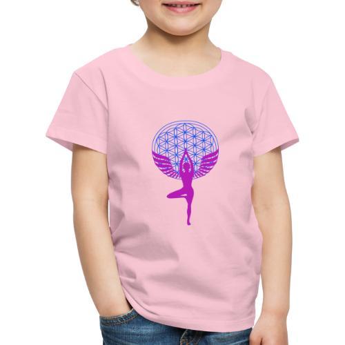 fleur de vie yoga n°1 - T-shirt Premium Enfant