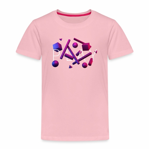 Play - geometric shapes - Kinder Premium T-Shirt