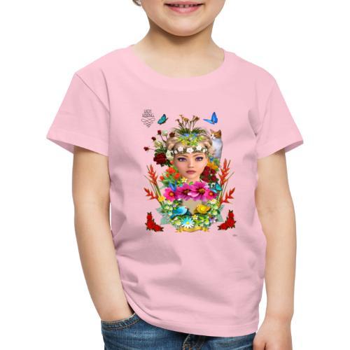 Lady spring -by- t-shirt chic et choc - T-shirt Premium Enfant