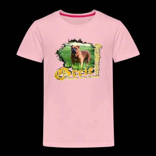 Grandmaster Greif Weiß - Kinder Premium T-Shirt