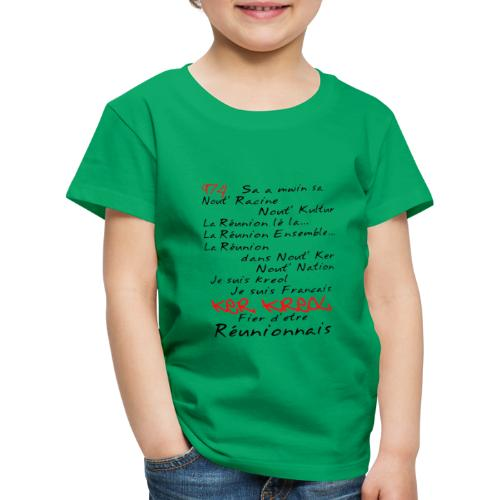 Kosement 974 ker kreol - T-shirt Premium Enfant