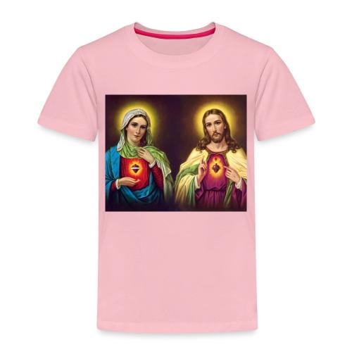 Coeurs unis de Jésus et Marie - T-shirt Premium Enfant