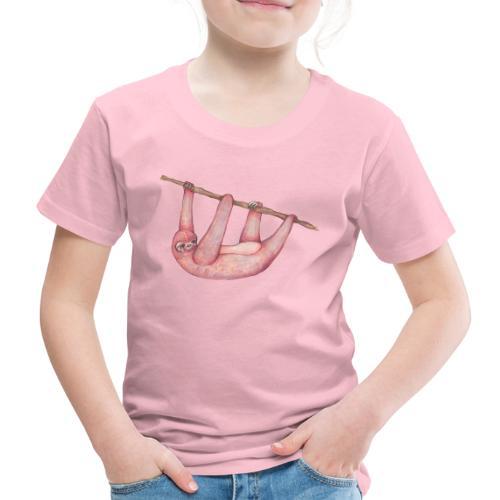 Pink sloth - Kinder Premium T-Shirt