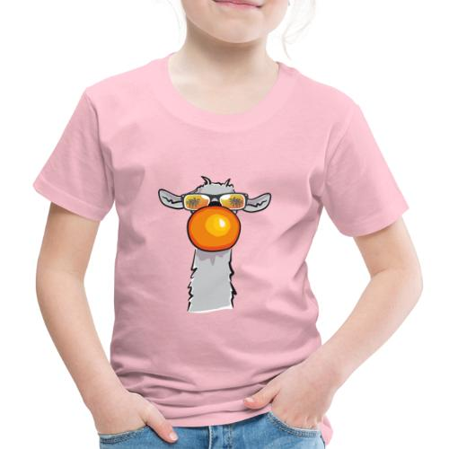 Chewing Llama - Kinder Premium T-Shirt