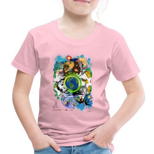 Mother Earth - black (us) -by T-shirt chic et choc - T-shirt Premium Enfant