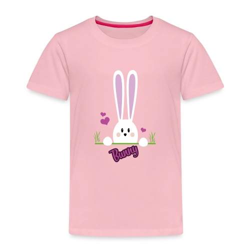 bunny girl - Kinder Premium T-Shirt