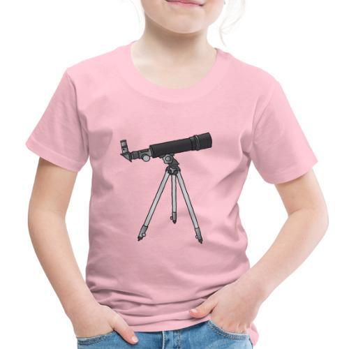 Teleskop Astronomie c - Kinder Premium T-Shirt