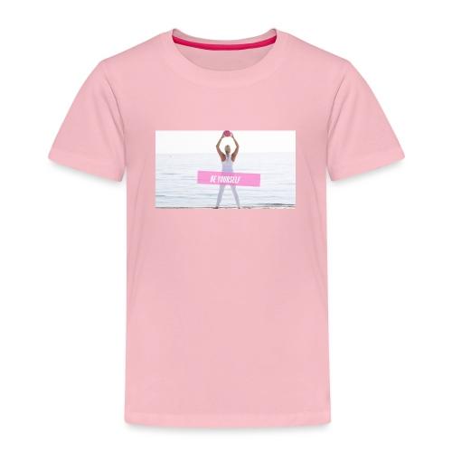 Be yourself - Kinder Premium T-Shirt
