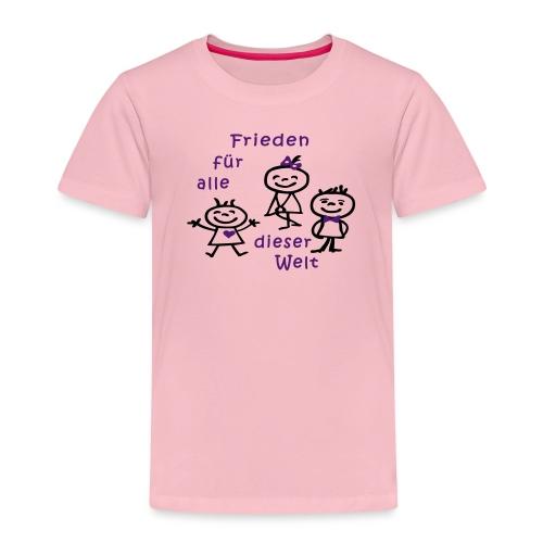 Kindertag, Childrens Day, Frieden - Kinder Premium T-Shirt