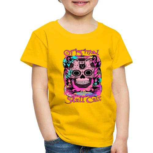 ORIGINAL SKULL CULT PINK - Kinder Premium T-Shirt