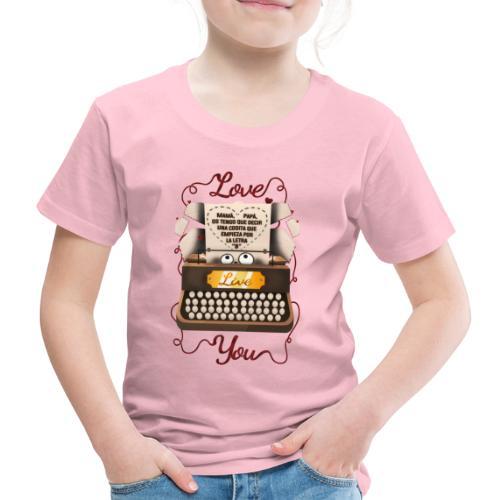 San Valentín - Camiseta premium niño