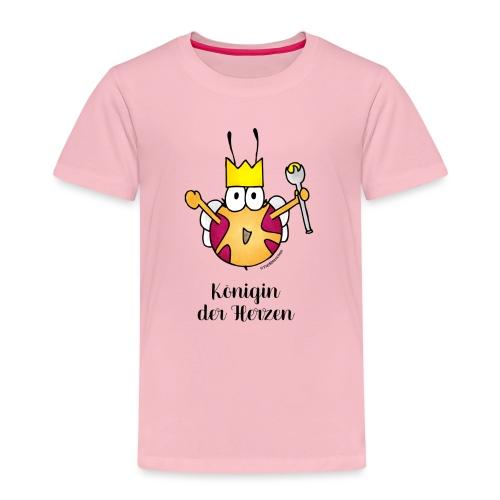 Königin der Herzen - Kinder Premium T-Shirt