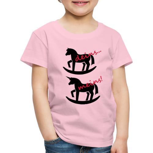 Dein Einhorn - mein Einhorn - Kinder Premium T-Shirt