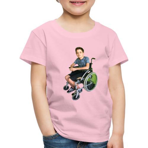 Michael Brown Rollstuhl (Version ein) - Kinder Premium T-Shirt