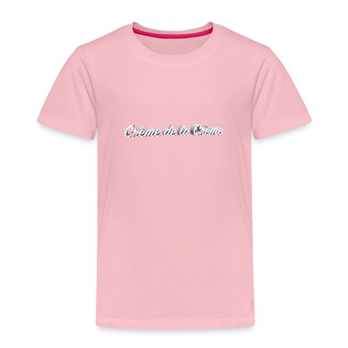 Creme de la Creme - Kinder Premium T-Shirt