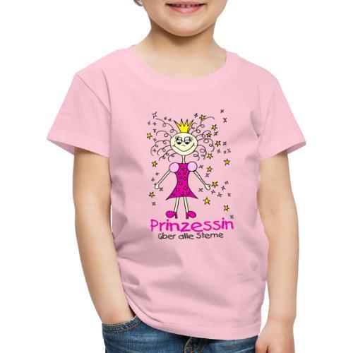 Prinzessin ueber alle Sterne - Kinder Premium T-Shirt