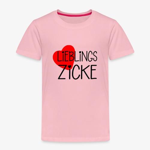 LieblingsZicke Geschenkidee Valentinstag - Kinder Premium T-Shirt