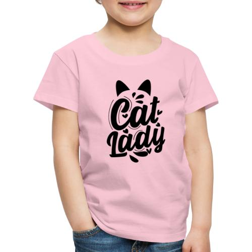CAT LADY - T-shirt Premium Enfant