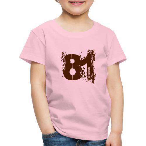 City_81_München - Kinder Premium T-Shirt