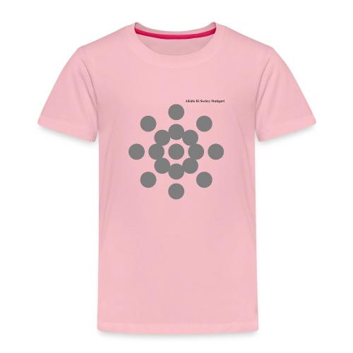 Aikido Ki Society Stuttgart Sun-Logo - Kinder Premium T-Shirt