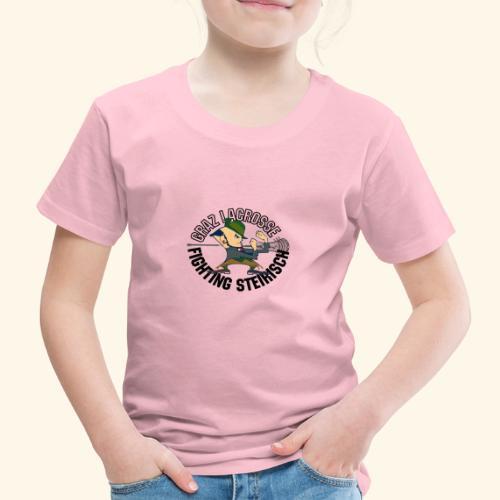 Fighting Steirisch black - Kinder Premium T-Shirt