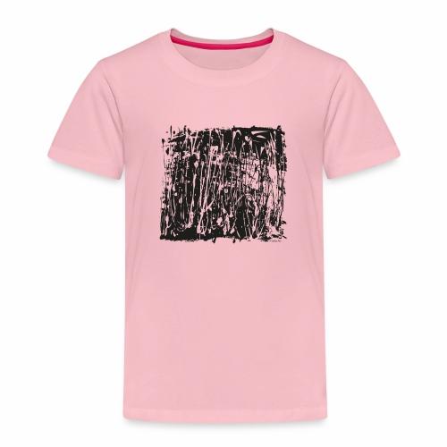 paintBlobBlack2 - Kids' Premium T-Shirt