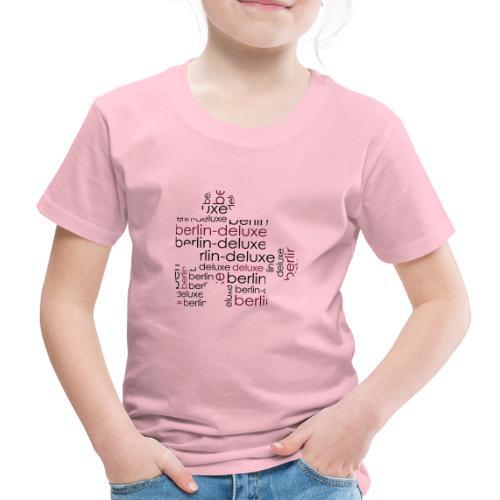 Berlin Deluxe Puzzle Motiv - Kinder Premium T-Shirt