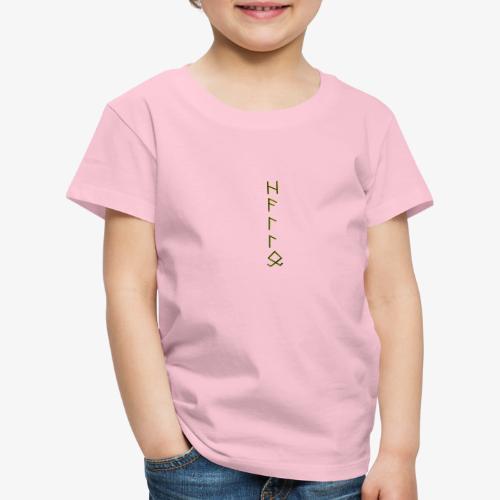 Hallo in Runenschrift - Kinder Premium T-Shirt