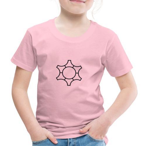 Zahnrad, Abstrakt - Schwarz - Kinder Premium T-Shirt