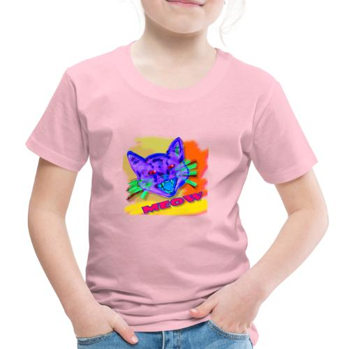 Katzen Kunst | cat art - Kinder Premium T-Shirt