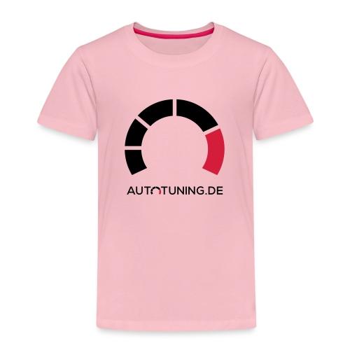 AUTOTUNING_QUADRAT_WEISS - Kinder Premium T-Shirt
