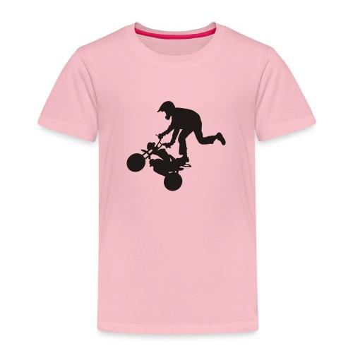 Monkey keulii - Lasten premium t-paita
