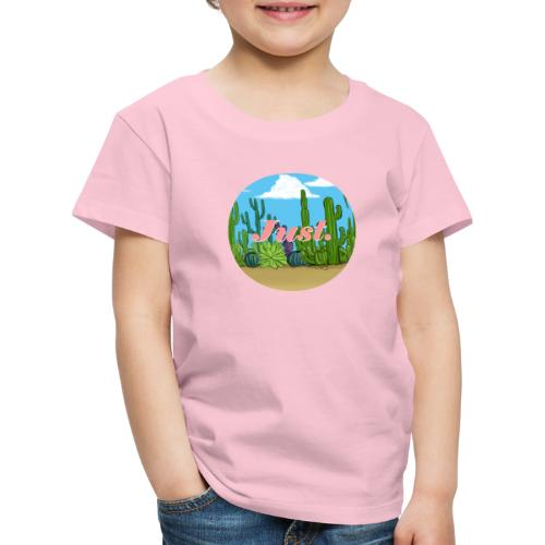 Just. Cactus - T-shirt Premium Enfant