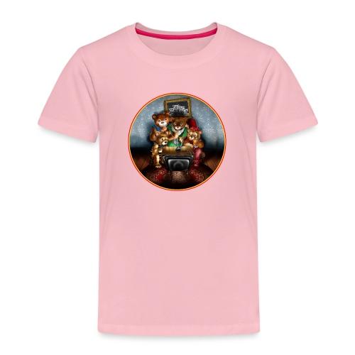 Bears watching TV - Kids' Premium T-Shirt