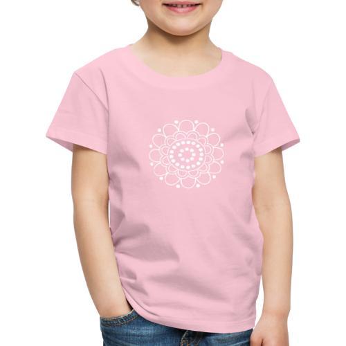 Helmikukka - Lasten premium t-paita