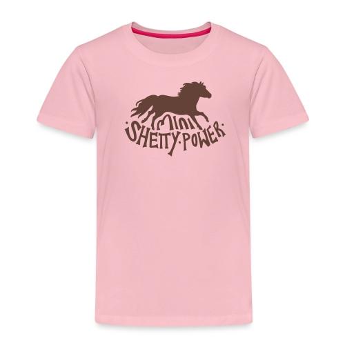 Shetty Power - Kinder Premium T-Shirt