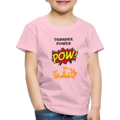 Tronderpower - Premium T-skjorte for barn