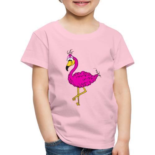 Flauschimingo - Kinder Premium T-Shirt