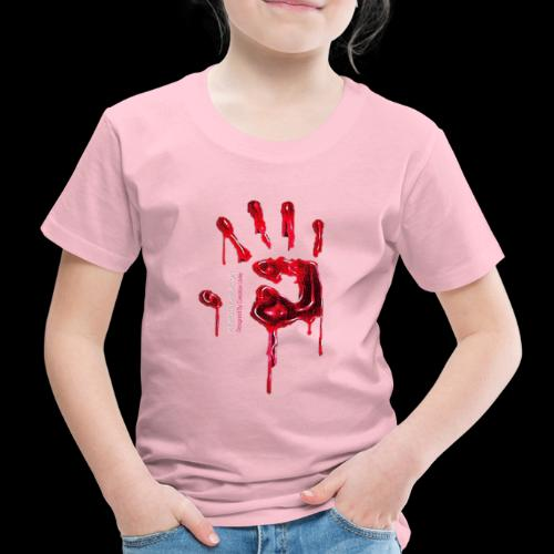 Promote Horror Blood-Soaked Hand - Kids' Premium T-Shirt