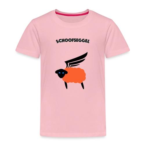 Schoofseggel (gross mit Schriftzug) - Kinder Premium T-Shirt