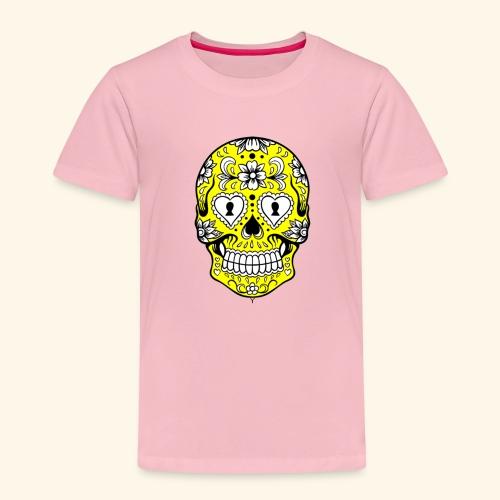 CALAVERA AMARILLA - Camiseta premium niño