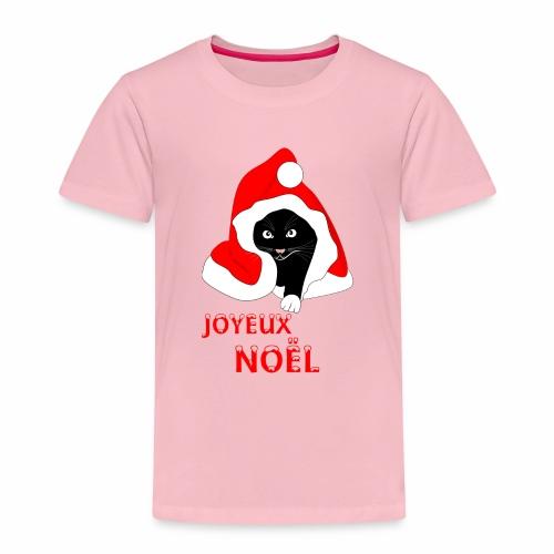 Joyeux Noël - Chat noir - Kids' Premium T-Shirt