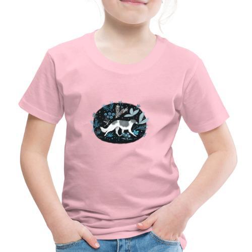 Barsoi im Mitternachtswald - Kinder Premium T-Shirt