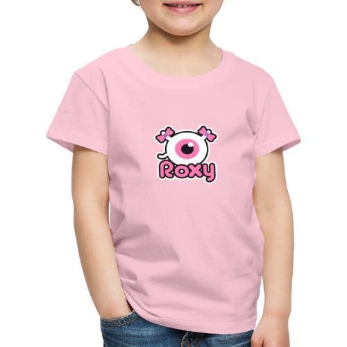 Roxy Label (Color) - T-shirt Premium Enfant