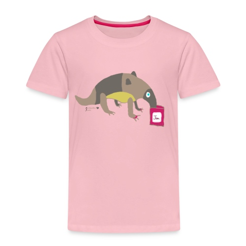 Anteater loves jam - Kids' Premium T-Shirt