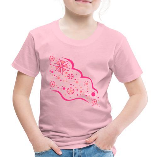 Blumen Flut - Kinder Premium T-Shirt